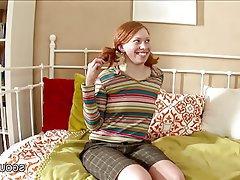 Casting Hardcore Redhead Skinny Teen