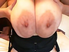 Babe Big Boobs Close Up