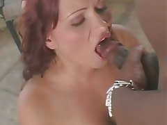 Anal Blowjob Facial Interracial Redhead