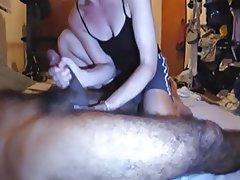 Amateur Blowjob Hairy Handjob Interracial