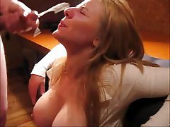 Amateur Big Boobs Cumshot Facial