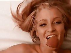 Amateur Blonde Cumshot Facial POV