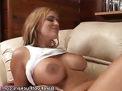 Babe Big Boobs Cumshot Foot Fetish